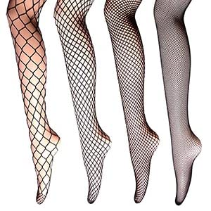 a06758ea3 Fishnet Stockings MultiPack High Waist Fishnets Pantyhose 2-4 Pairs ...