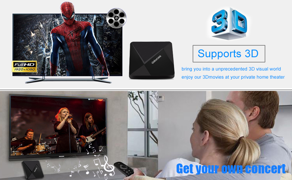 d5 ANDROID TV BOX