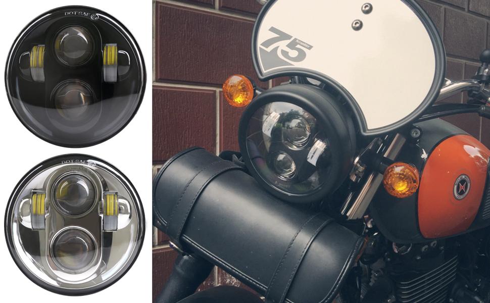 5.75inch led headlight