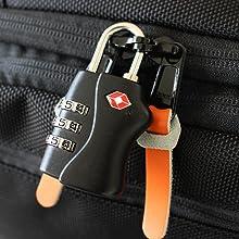 lockable zips