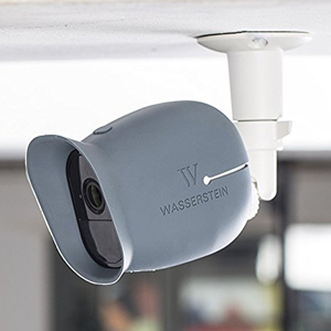Amazon security metal wall mount adjustable indooroutdoor wasserstein adjustable indooroutdoor mount for arlo arlo pro and other compatible models sciox Images
