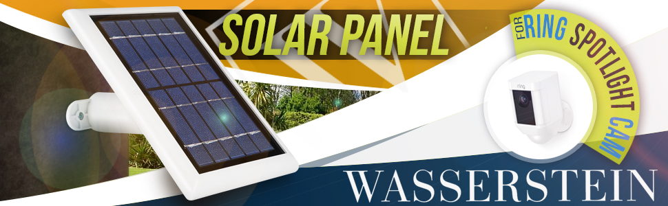 Amazon.com : Solar Panel Compatible with Ring Spotlight