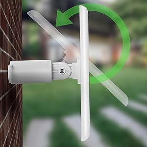 Amazon Com Solar Panel Compatible With Ring Spotlight