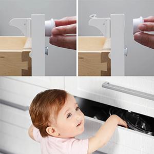 Amazon Com Magnetic Baby Safety Cabinet Locks 12 Locks