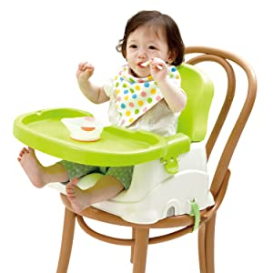 The Silverflye portable booster seat is perfect for Baby-led weaning! Whatu0027s baby-led weaning any ways? Baby-led weaning is a cheesy term for just letting ...  sc 1 st  Amazon.com & Amazon.com : Booster Seat for Dining- Toddlers Portable High Chair ...