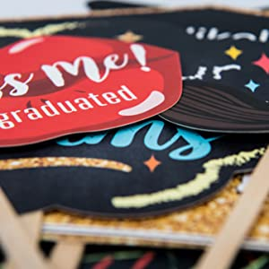 graduation photo booth props photobooth