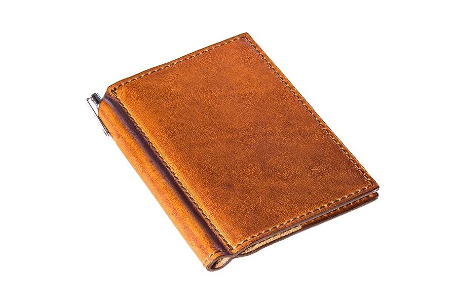 Amazon.com: Mini diario con pluma de 3 x 4 en Horween ...