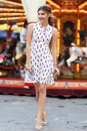 d2c28f25fab Alisa Pan Women s Simple Sleeveless Short Casual Summer Dress 05469 ...