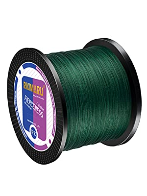 moss green fishing line