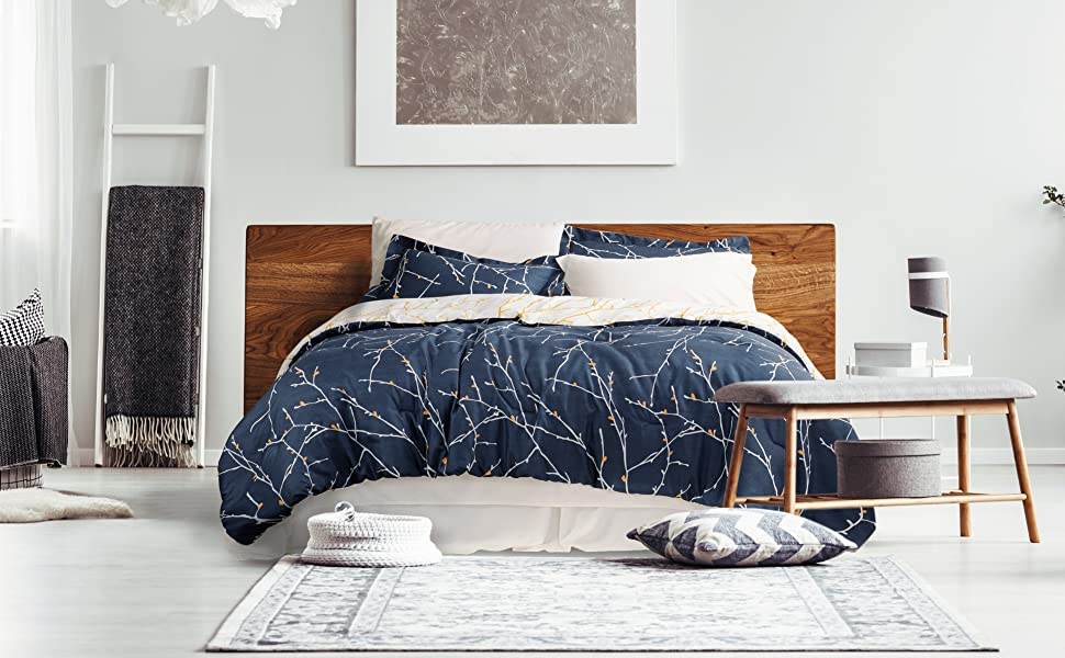 Tree Branch Patterned Bed in a Bag from Bedsure