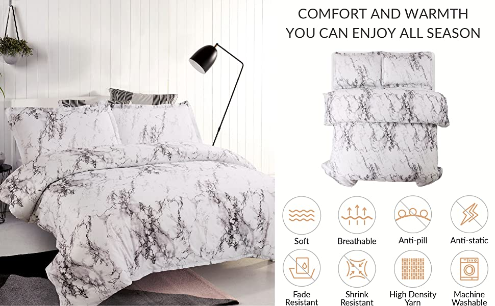 Printed Duvet Cover Mable Pattern 2
