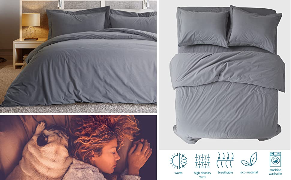 Brushed Duvet Cover Set