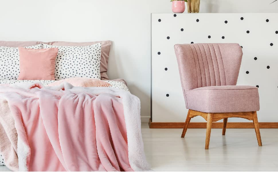 4de0d33c8d BEDSURE Sherpa Fleece Blankets are crafted of premium materials with  on-trend design for homeowners with sophisticated tastes in decoration home.