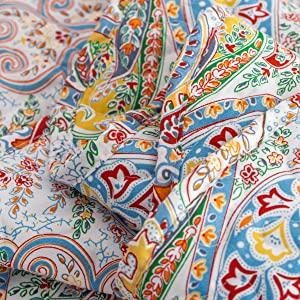 PAISLEY QUILTED PATTERN