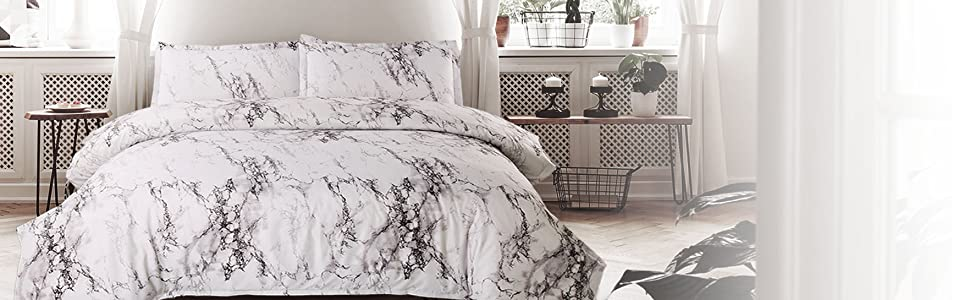Printed Duvet Cover Mable Pattern 6