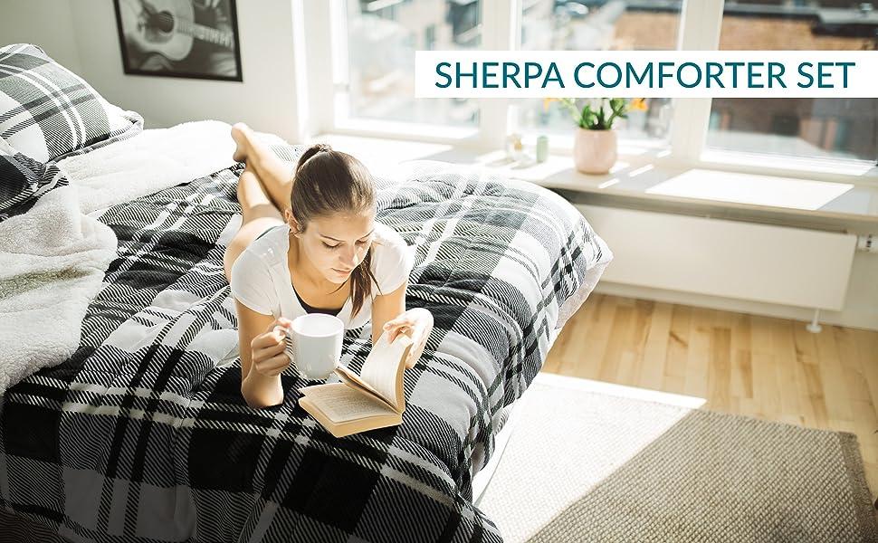 Sharpa Comforter Set