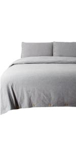 100% Cotton Duvet Cover Set