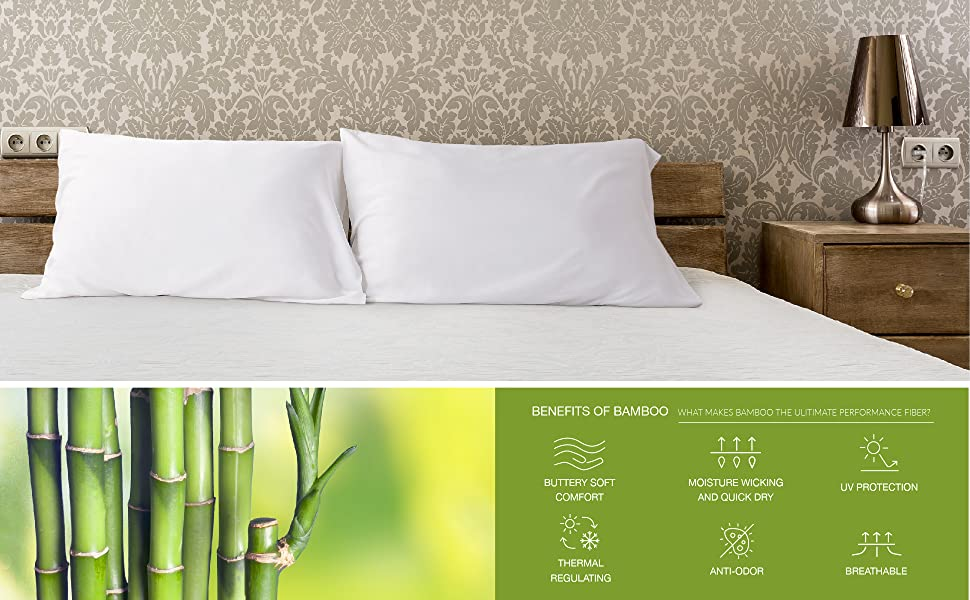 Cooling Bamboo Pillowcases 2