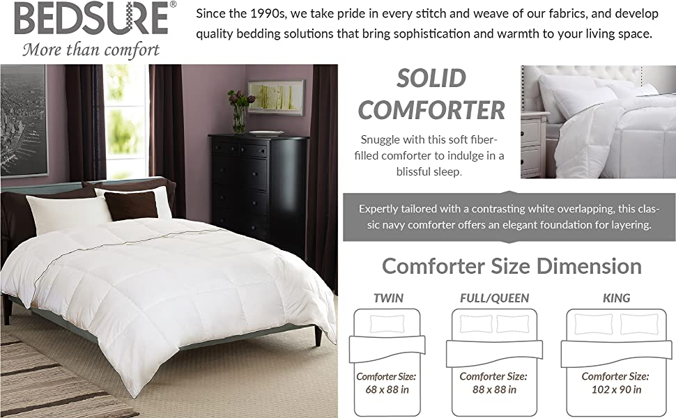 superior hypoallergenic duvet alternative op white down weight fullqueen duvets cvb solid insert fluffy warm for all medium bed soft amp season comforter comforters