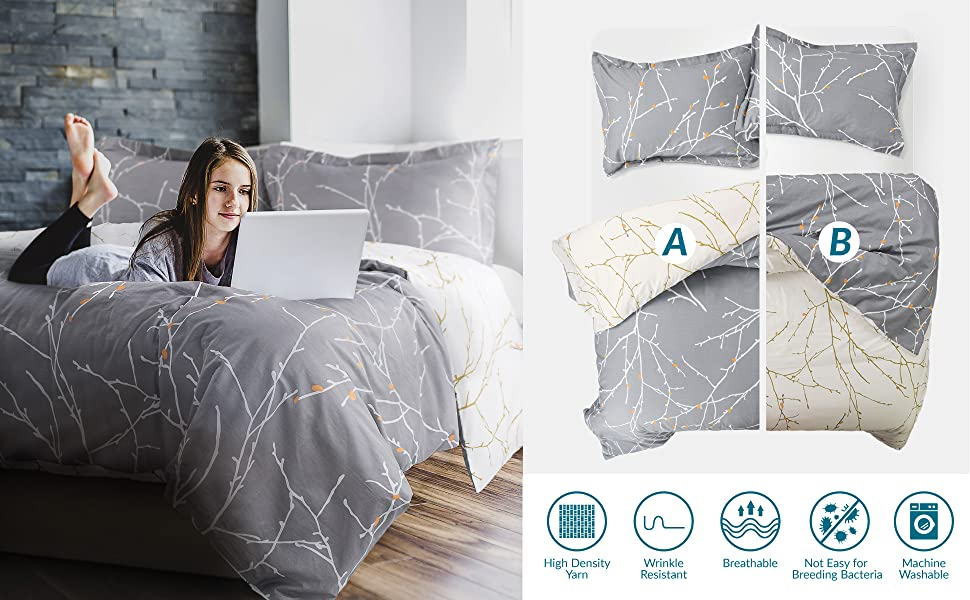 Soft and comfort duvet cover set
