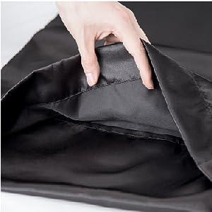 Bedsure | Solid Satin Pillowcase 4