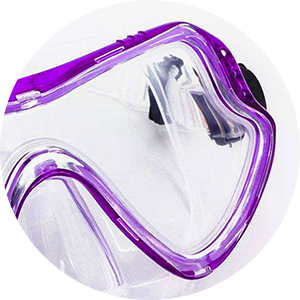 snorkel glasses