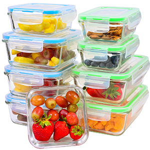 Glass Storage Containers with Lids