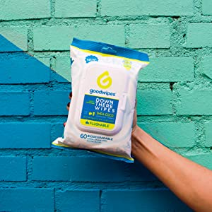 Wipes, Wet Wipes, Flow Pack, Resealable, Outside, Wall, goodwipes