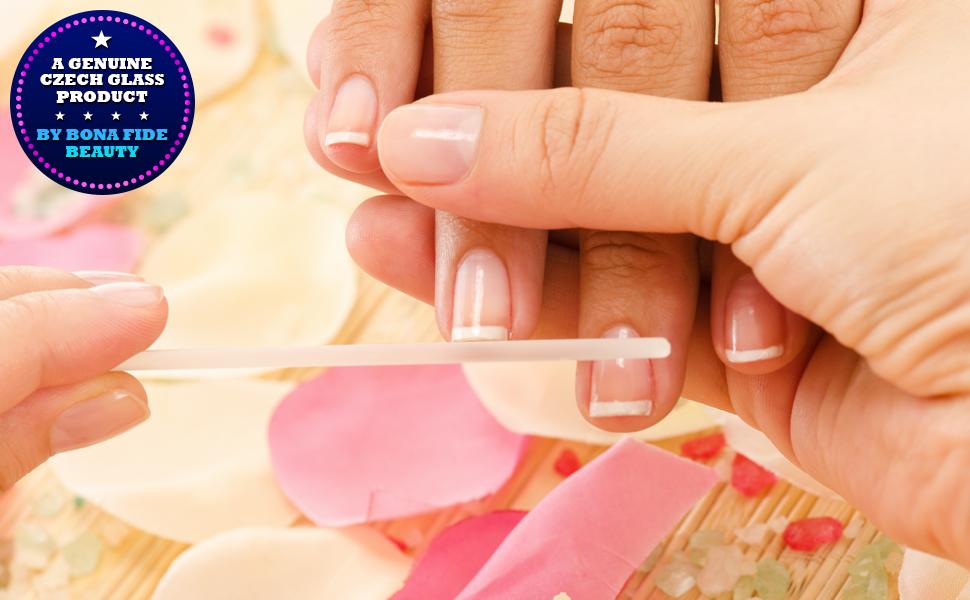 Amazon.com : Glass Nail File - Manicure Pedicure Nail Care - Crystal ...