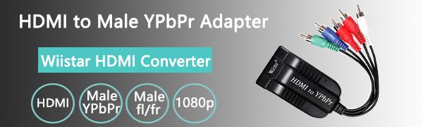 HDMI to Component YPbPr Converter