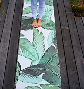 Amazon.com : Banana Leaf Yoga Mat - Beverly Hills Themed