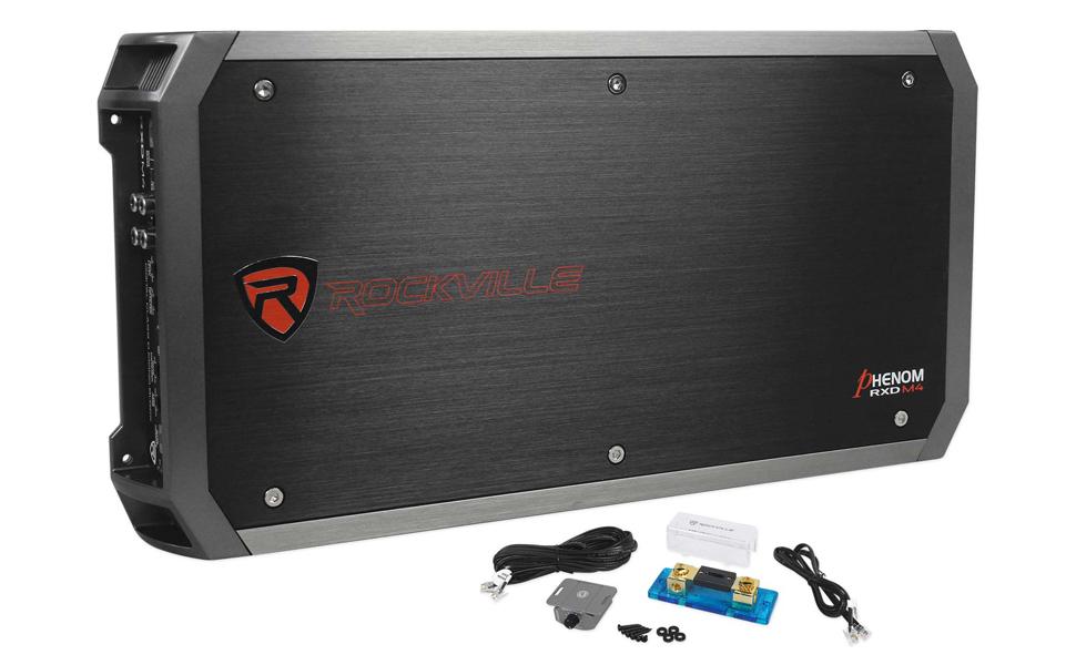 Rockville 4000 Watt//1000w RMS Mono Class D 2 Ohm Amplifier Car Audio Amp dB14