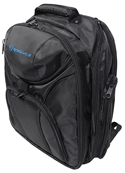 Rockville Travel Case Backpack Bag For Peavey PV14BT Mixer