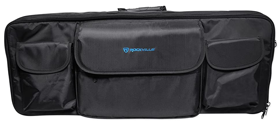 Rockville Carry Bag Backpack Case For Novation Impulse 49 Keyboard Controller