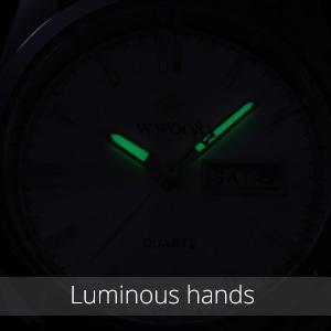 Luminous hands