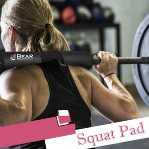 Barbell Squat Pad - Advanced Neck & Shoulder Ergonomic Protective Pad Support for Squats, Lunges