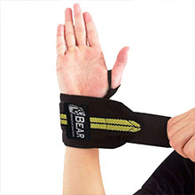 Professional Grade with Thumb Loops - Wrist Support Braces Men Women Weight Lifting Power lifting,