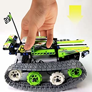 RC Tracked Racer Building Kit