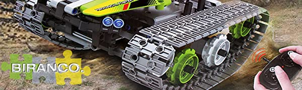 RC Tracked Vehicle Building Kit