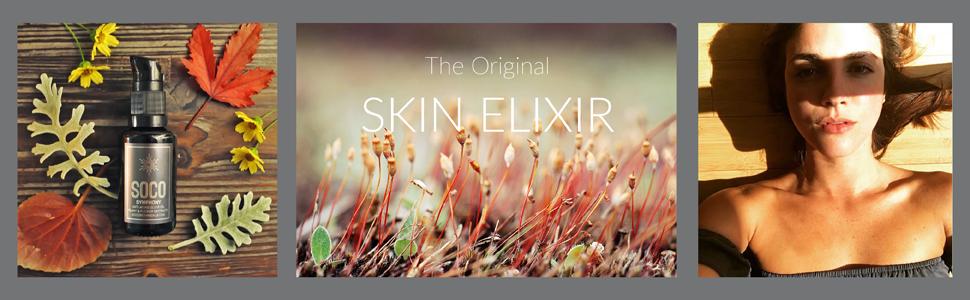 Essential Oils Anti Aging Serum Organic Face Oil Neroli Helichrysum Chamomile Pure Softens Wrinkles