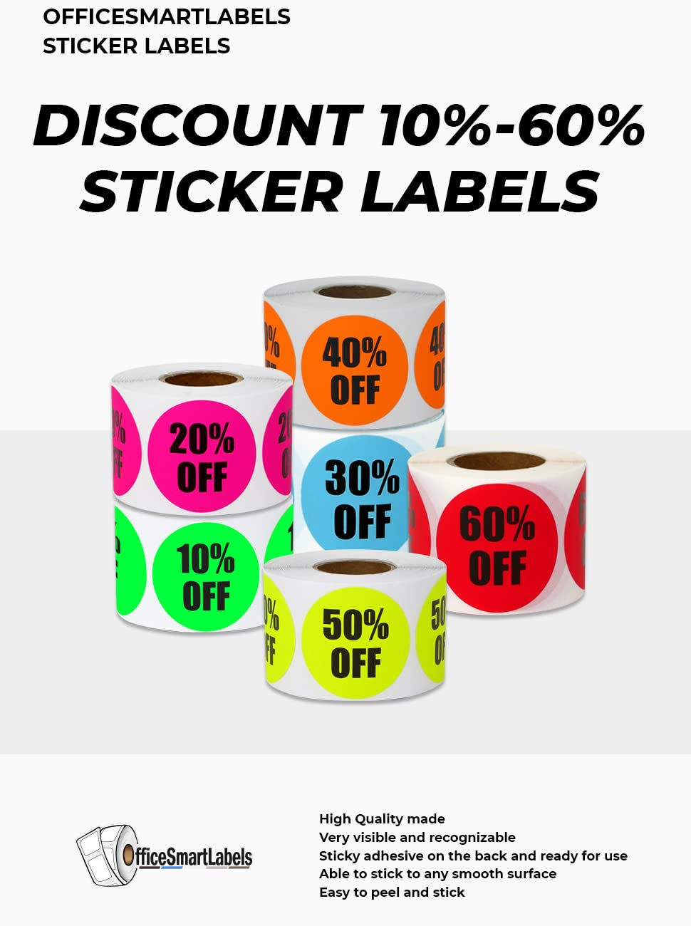 LOT 200 PINK SALE 25/% OFF  Price Labels Stickers Tags Retail Store 2X1 INCH