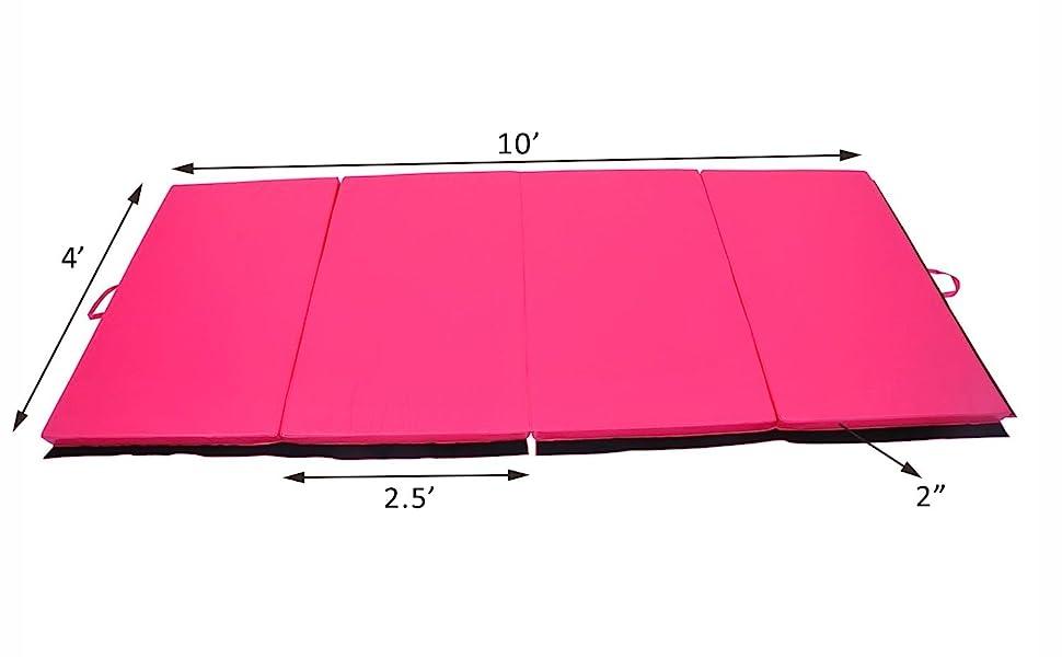 Amazon.com: Soozier Colchoneta Plegable de cuero PU de ...