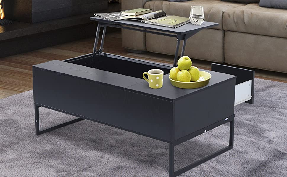 Glass Coffee Table Lift Top 4