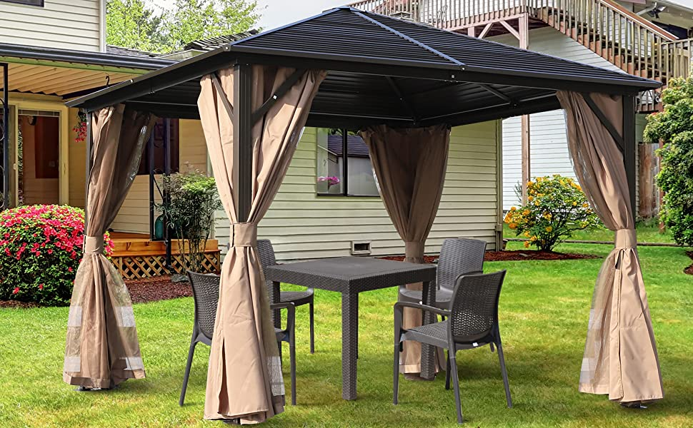 screened outdoor outside furniture goods decor