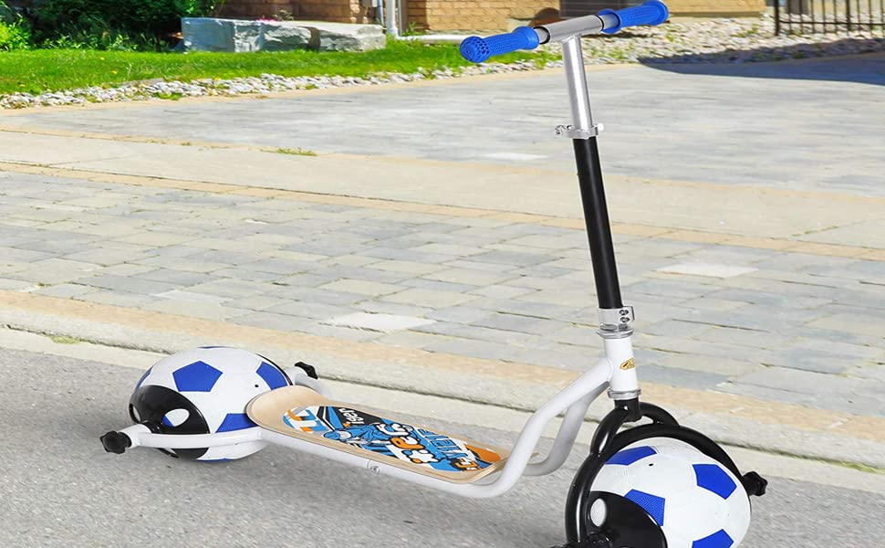Amazon.com: Qaba Balance Scooter for Kids with Soccer Ball ...