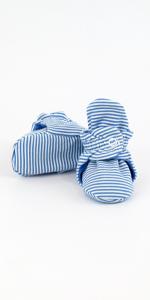 zutano cotton candy stripe booties