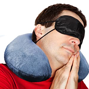 Amazon Com Comfortable Travel Pillow Get Wrapped In
