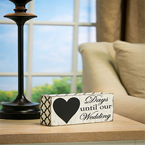 Wooden Ring Holder Decorative Box