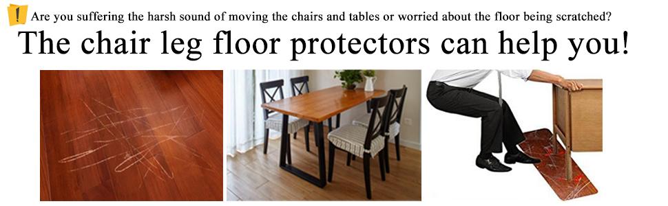 Chair Leg Floor Protectors Warmhut 16pcs Black Silicone Table Rh Amazon Com Dining Protector Pads Room Pad