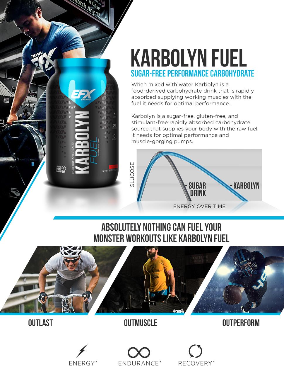 b03c08427f5 Amazon.com  EFX Sports Karbolyn Nutritional Shake